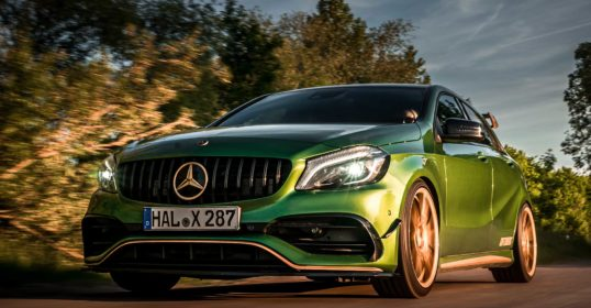A 45 AMG Speed