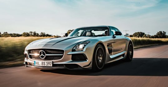 Mercedes Benz SLS Black Series Speed 1
